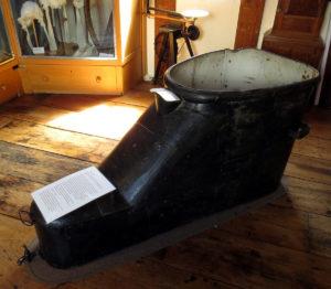 Shoe bath in the Butchers House, Ledbury