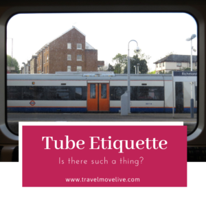 Is there be such a thing as London Tube Etiquette? - Travel