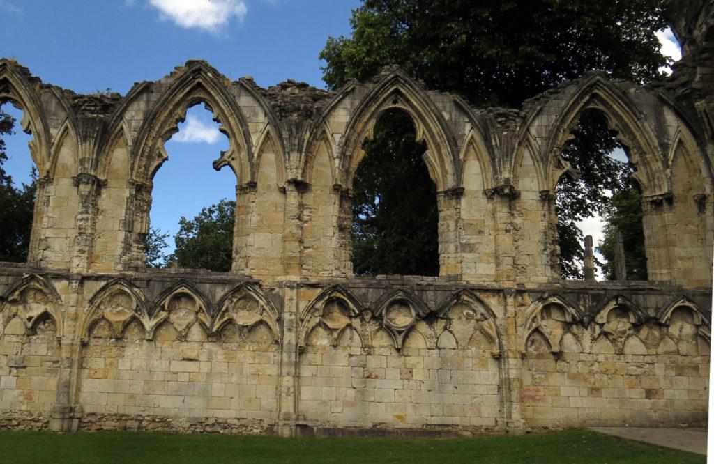Ruins in York