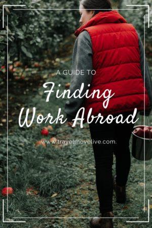 Find work abroad